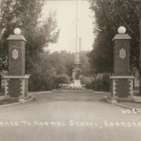 Entrance to Northern Normal School