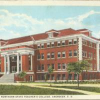Lincoln Hall postcard